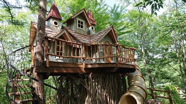 軽井沢おもちゃ王国のアスレチック(わくわく大冒険の森)に子供も親もハマる理由